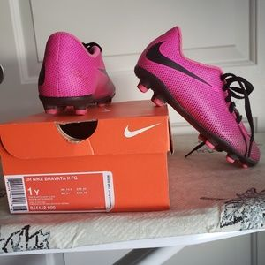 Girls youth Nike soccer cleats
